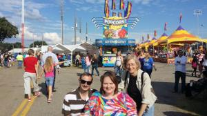 Richard, me, and Harriet at the Titus County Fair.