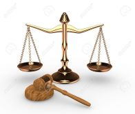 14802488-Scales-justice-and-hammer-gavel-3d-render-Stock-Photo